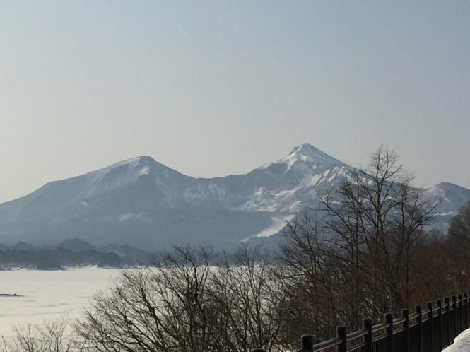 磐梯山写真